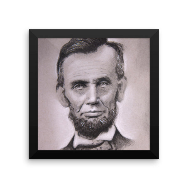 Framed Photo Paper Poster - Abe