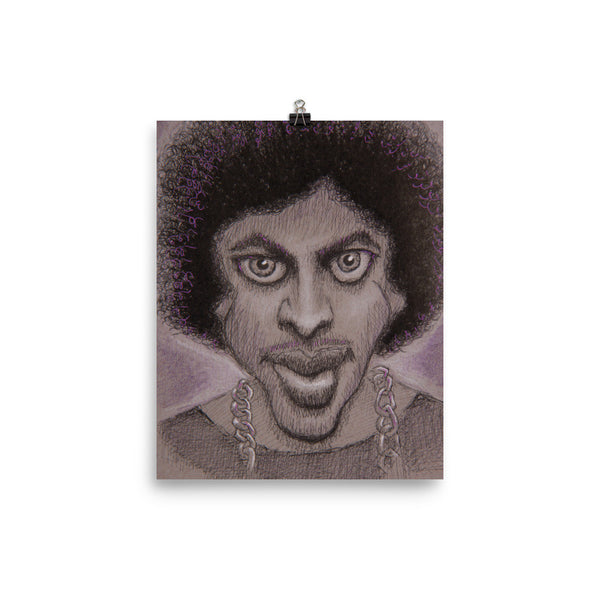 Photo Paper Poster - Purple