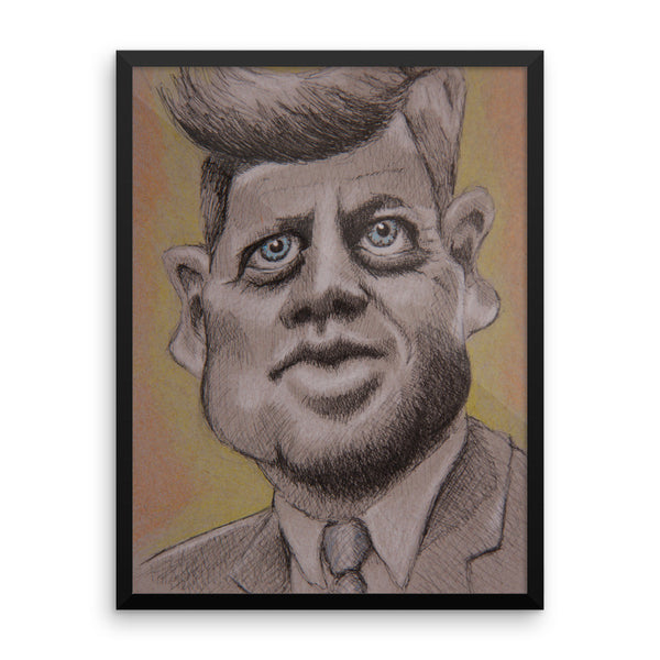 Framed Poster - JFK