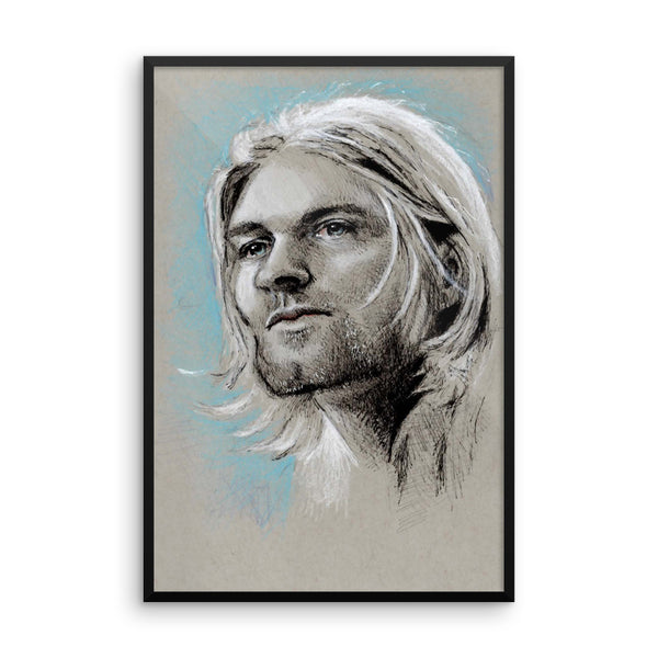 Framed Photo Paper Poster - Kurt
