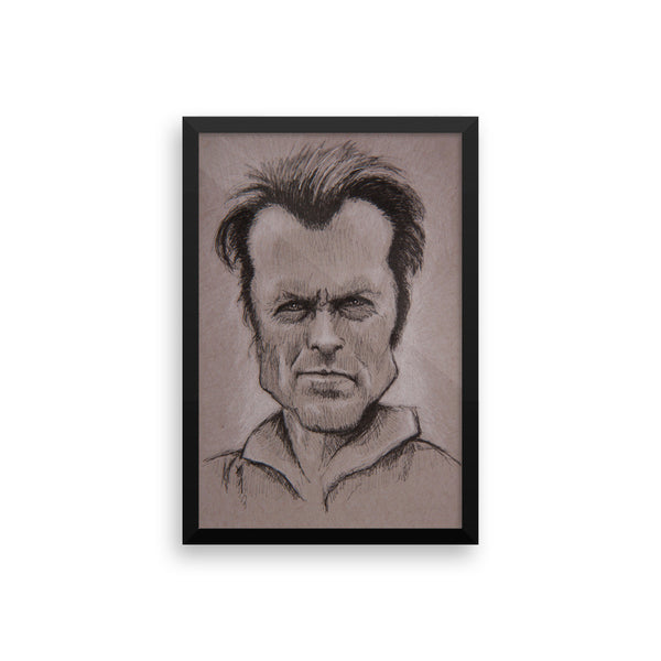 Framed Photo Paper Poster - Clint
