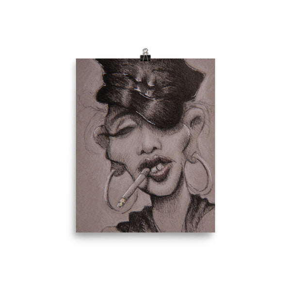 Photo Paper Poster - Madge