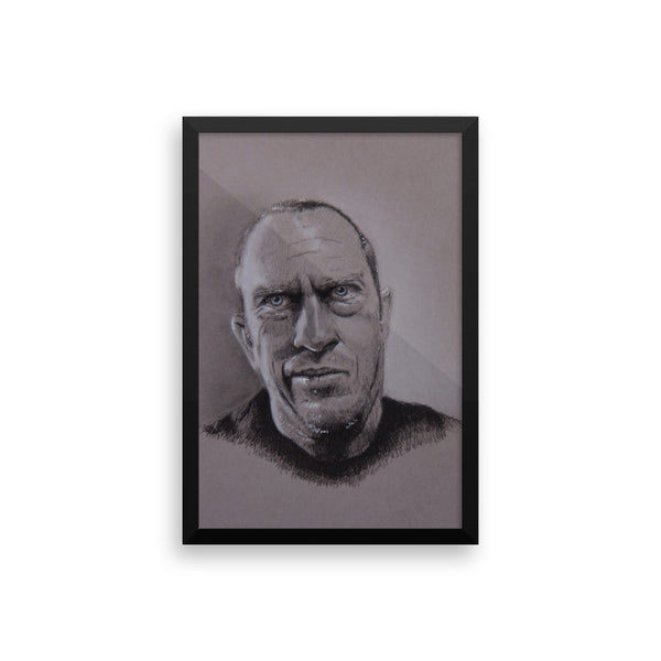 Framed Photo Paper Poster - chadizms
