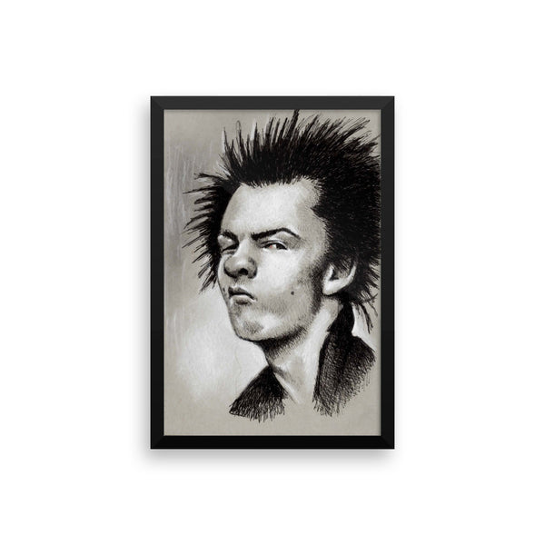 Framed Photo Paper Poster - Sid