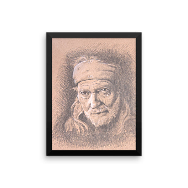 Framed Photo Paper Poster - Willie