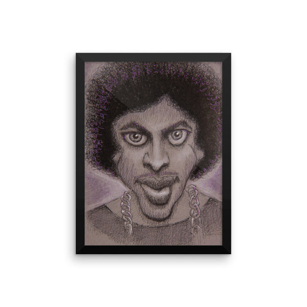 Framed Poster - Purple