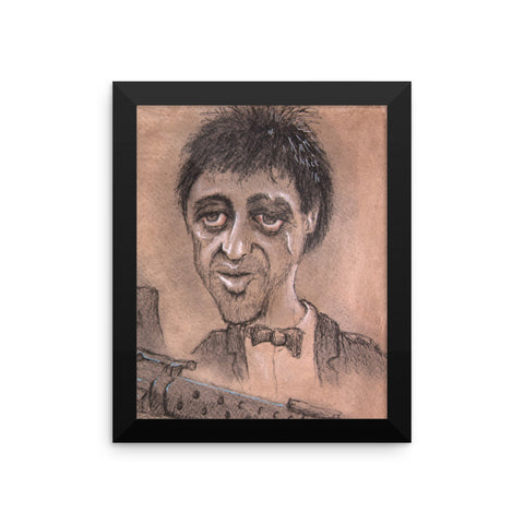 Framed Photo Paper Poster - Tony