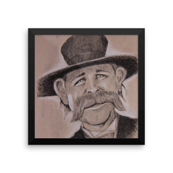 Framed Photo Paper Poster - Wyatt