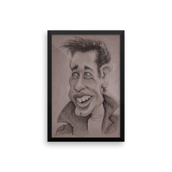 Framed Photo Paper Poster - Danny