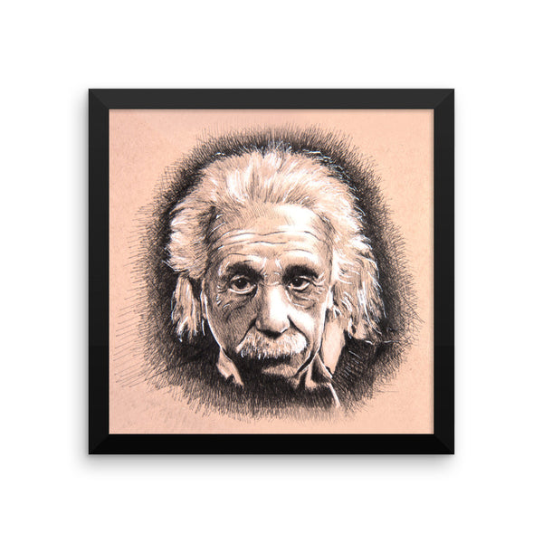 Framed Photo Paper Poster - Albert