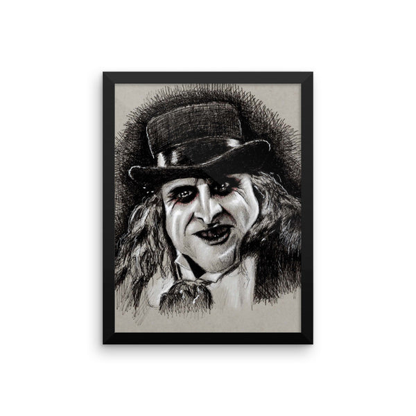 Framed Photo Paper Poster - Pen