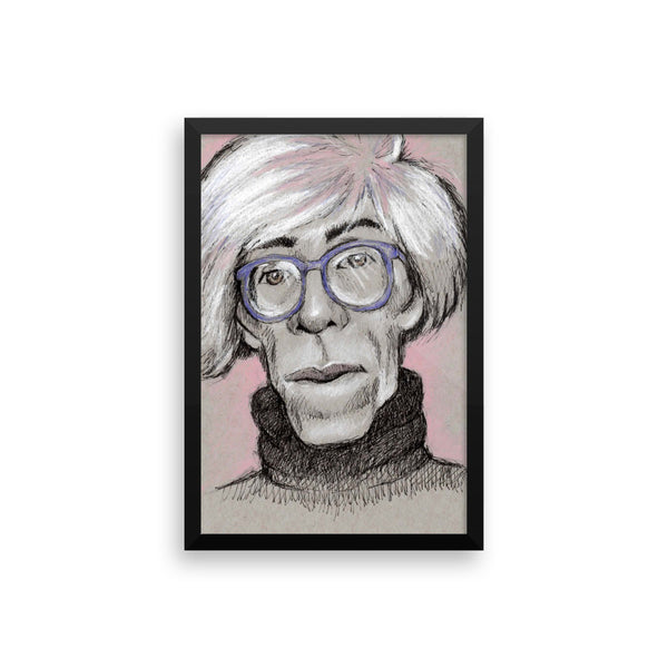 Framed Photo Paper Poster - Warhol