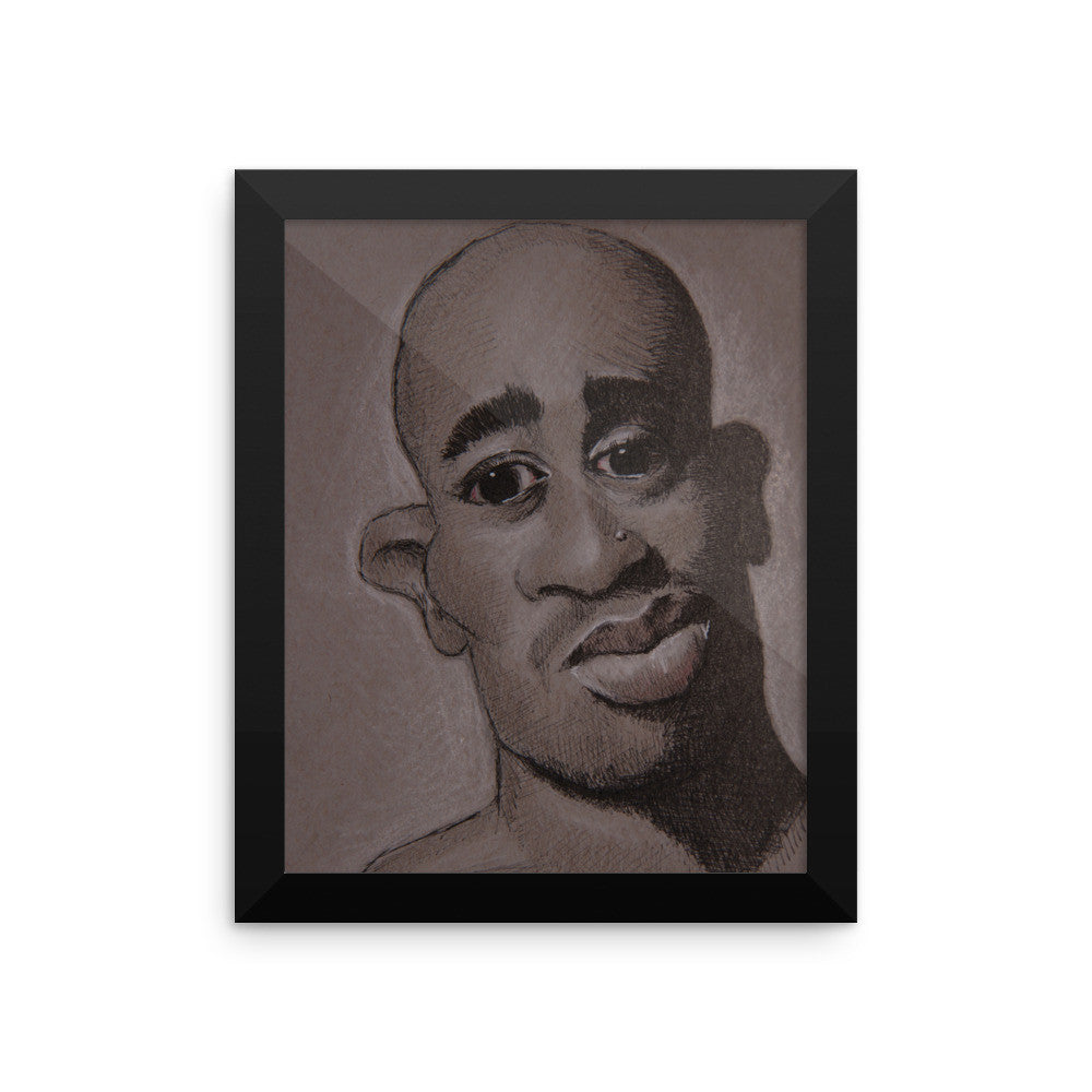 Framed Photo Paper Poster - Pac