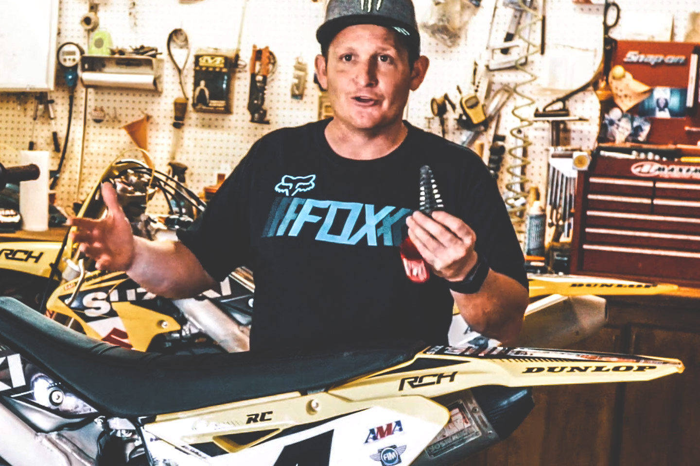 The Purpose Of A Dirt Bike Exhaust Plug - Ricky Carmichael Explains