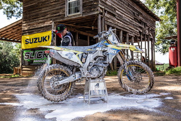 """Wash it right, or don't do it at all."" - Ricky Carmichael"