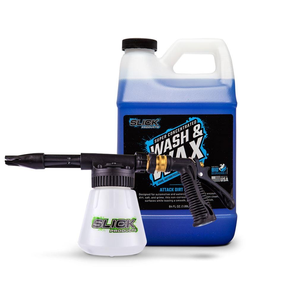 Wash & Wax + Foam Gun Bundle
