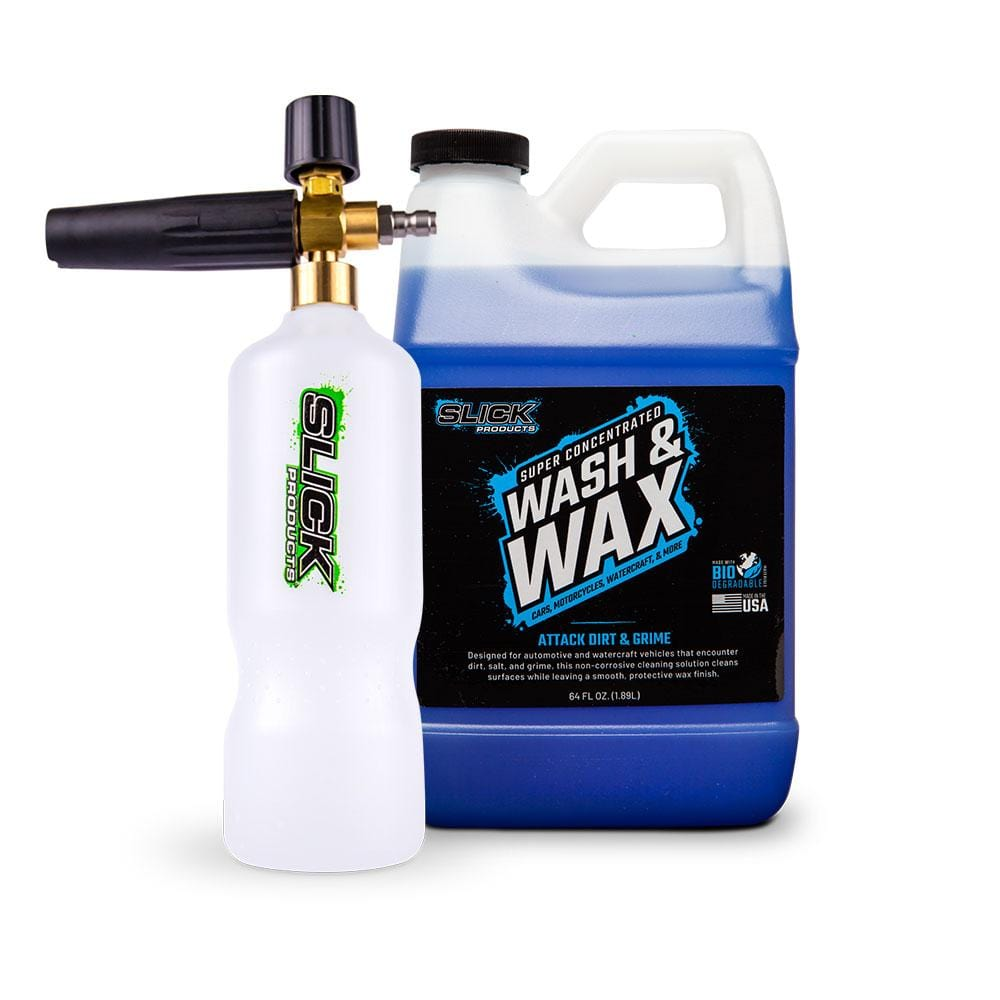 Wash & Wax + Foam Cannon Bundle