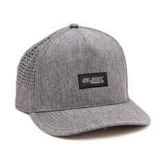 Micro Tech Snapback Hat - Charcoal