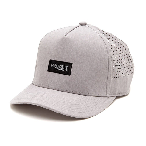 Micro Tech Snapback Hat - Gray