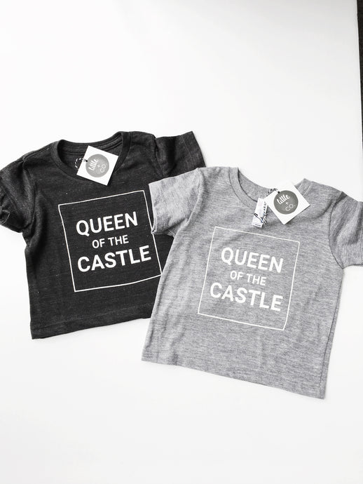 Queen of the Castle Tri-Blend Tee