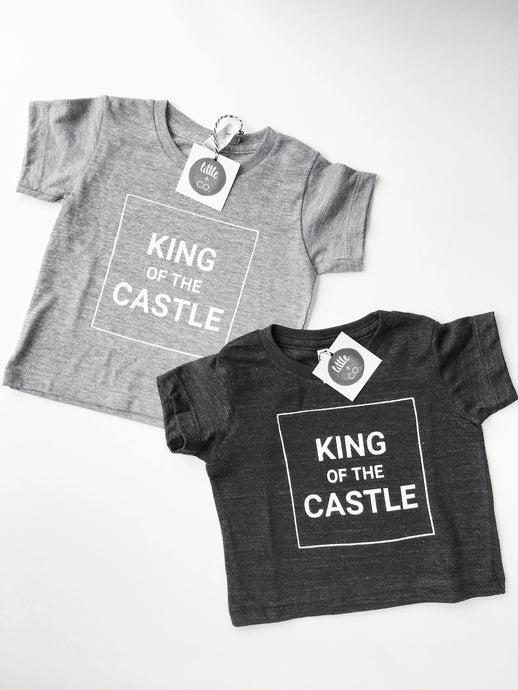 King of the Castle Tri-Blend Tee