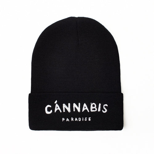 CANNABIS PARADISE - BEANIE - Growing Gardens Clothing