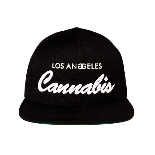 LOS ANGELES CANNABIS - SNAPBACK - Growing Gardens Clothing