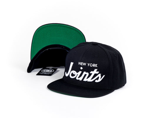 NEW YORK JOINT'S - BLACK - SNAPBACK - Growing Gardens Clothing