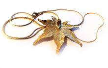GOLD LEAF NECKLACE - Growing Gardens Clothing - 2