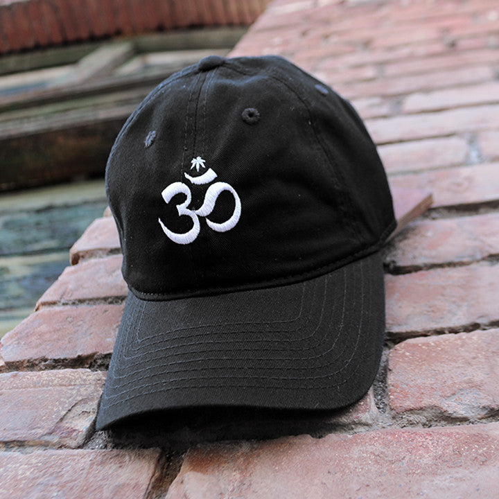 Om (Aum) - Dad Cap - Black