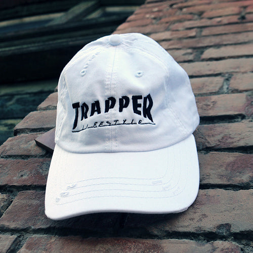 Trapper - Dad Cap (White)