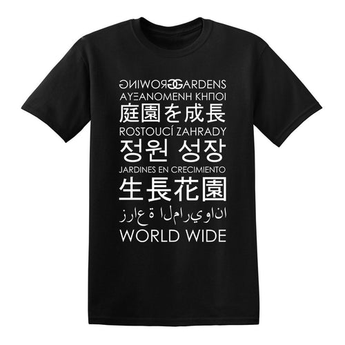 WORLD WIDE - BLACK - T-SHIRT