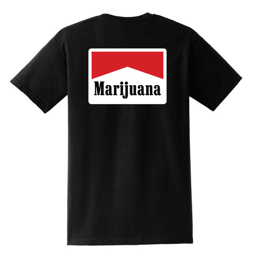 Marijuana - T-Shirt - Black