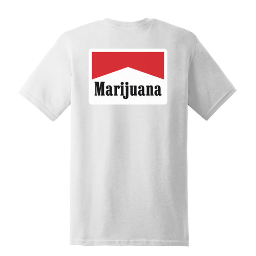 Marijuana - T-Shirt - White