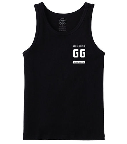 MORE GARDEN - BLACK - TANKTOP - Growing Gardens Clothing - 1