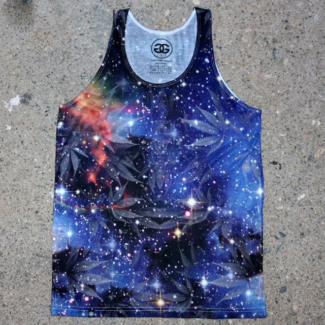 SPACE WEED - TANK - Growing Gardens Clothing