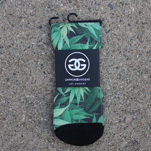 CANNABIS - SOCKS - Growing Gardens Clothing - 1