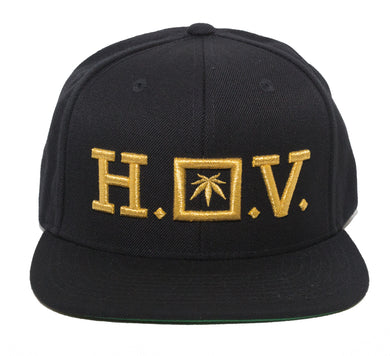 HOV - GOLD - SNAPBACK - Growing Gardens Clothing