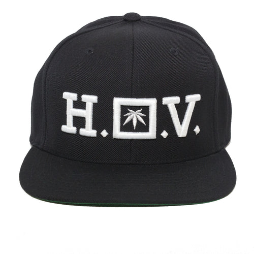 HOV - WHITE - SNAPBACK - Growing Gardens Clothing