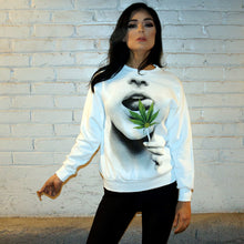 Bud Leaf Lollipop - Sweater - White