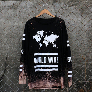 WORLD WIDE OG SMOKERS - LONG SLEEVE - BLEACH