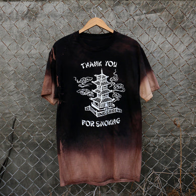 THANK YOU FOR SMOKING - TEE - BLEACH
