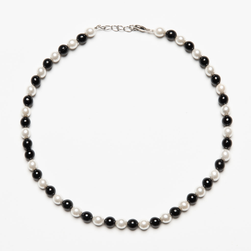 Mixed Pearl Choker - streetwear jewelry