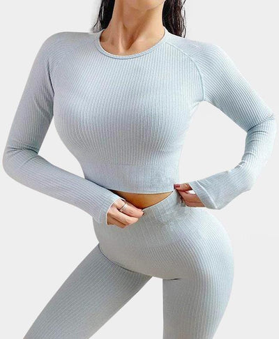 Rib-Knit Textured Set