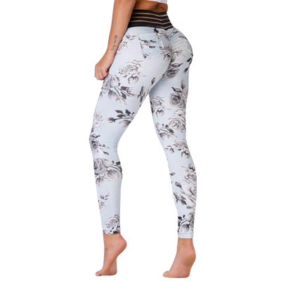 Flower Scrunch Leggings