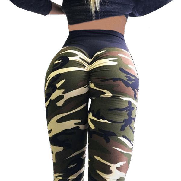 70% Off Camo Booty Scrunch Leggings