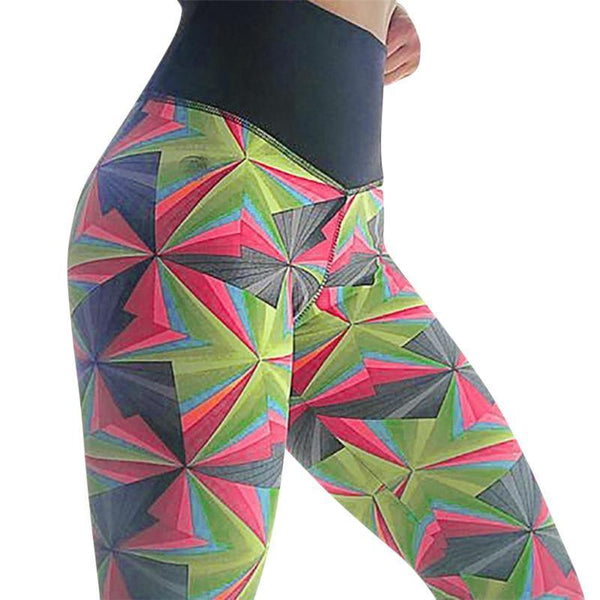 Kaleidoscope Scrunch Leggings