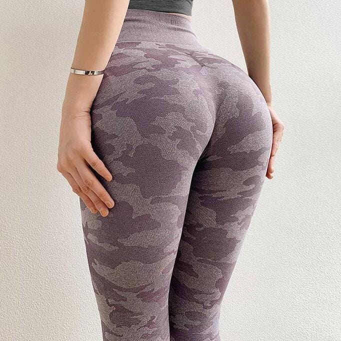 2nd Pair Deal Camo Seamless Leggings
