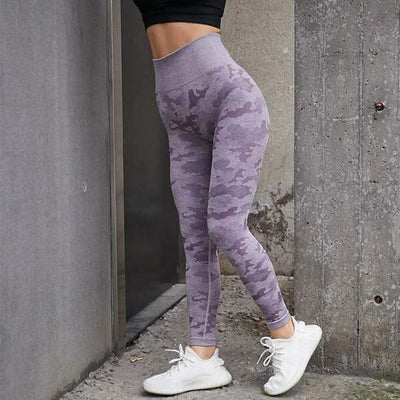 70% Off Camo Seamless Leggings