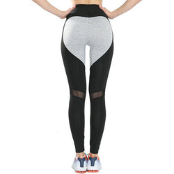 Heart Mesh Leggings